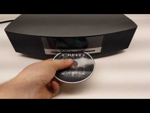 Testing of Bose AWRCC1 Wave Music System Radio & CD Player with Remote