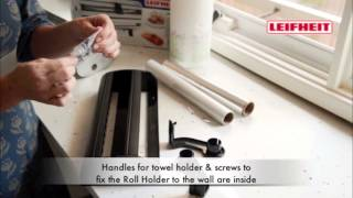 Howards - Leifheit Parat Royal Roll Dispenser(Paper and Plastic roll dispenser., 2013-07-18T01:38:12.000Z)