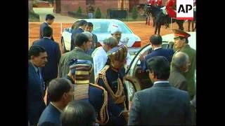 INDIA: NEW DELHI: CHINESE PRESIDENT JIANG ZEMIN VISIT UPDATE