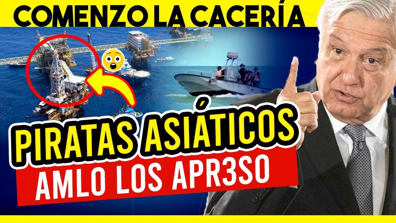 Ultima Hora ¡En Golfo D Mexico Marina Se a Enfr3nta A Banda De Piratas Asiáticos ! Enterate Aqui