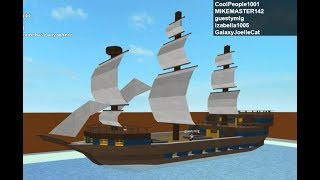Giant Pirate Ship Speed Build (Double Build) (Roblox Sandbox)