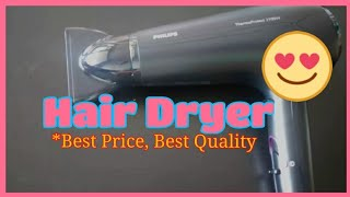 Philips Hair Dryer HP8230 / HP8232 / HP8233 / HP8234 - Shopping , Unboxing and Testing Review