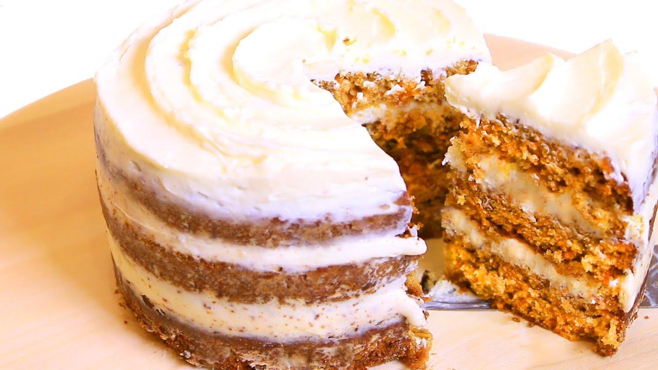 как сделать морковный торт рецепт