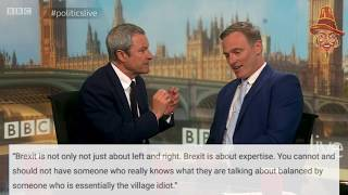 Скачать Gavin Esler Makes A Tit Of Himself On Politics Live