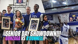 Xavier Johnson SHOWS OUT on Senior Day! O