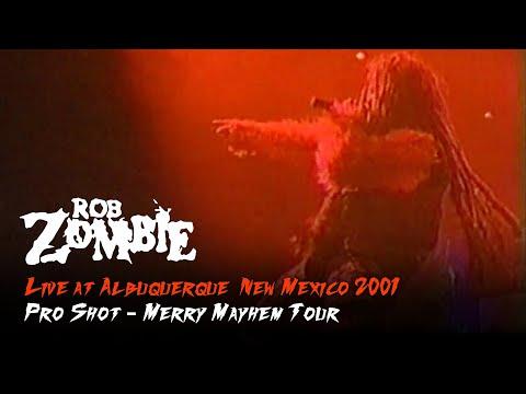Rob Zombie - Live At Albuquerque, New Mexico 2001 (widescreen Pro-shot)