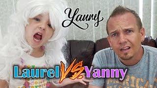Video YANNY vs LAUREL: What do you Hear? (Kids React) download MP3, 3GP, MP4, WEBM, AVI, FLV Mei 2018