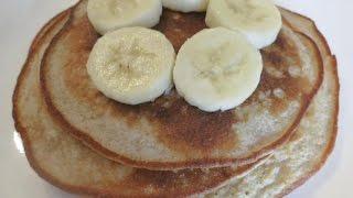 Whole Wheat Banana Pancakes   ellaingreenspace
