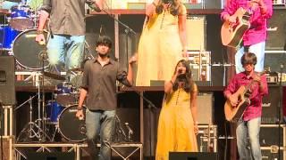 Download Hindi Video Songs - SASTRA Music Team KS '15 Host Show - Mona Gasolina