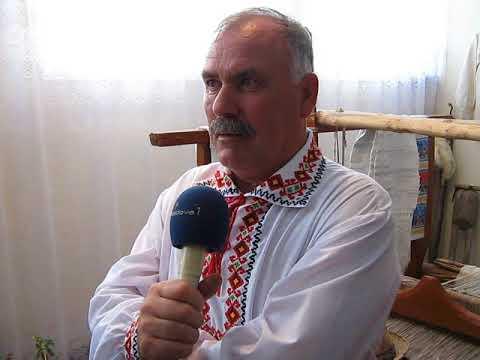 Deschiderea Muzeului Etnografic Al Satului Bucuria (interviu Dumitru Cicanci)