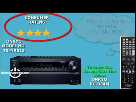 Onkyo AV Receiver | RemoteControls com