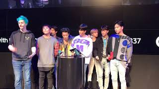 190316 IKON in NEW YORK at SAMSUNG837 Fornite with Ninja