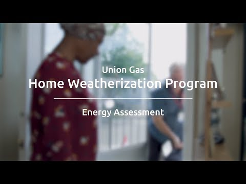 Home Energy Assessment with the Home Weatherization Program