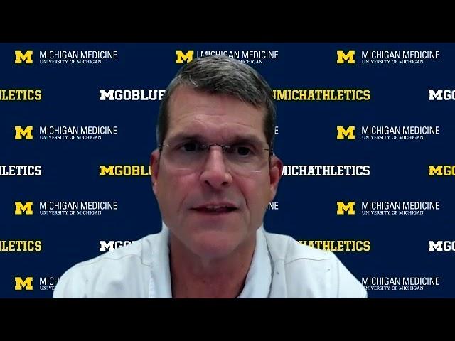 Jim Harbaugh Presser - Michigan State Week