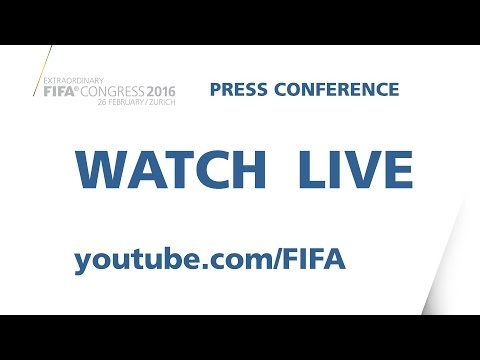 REPLAY:  New FIFA President Gianni Infantino - Press Conference