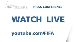 REPLAY:  New FIFA President Gianni Infantino - Press Conference thumbnail