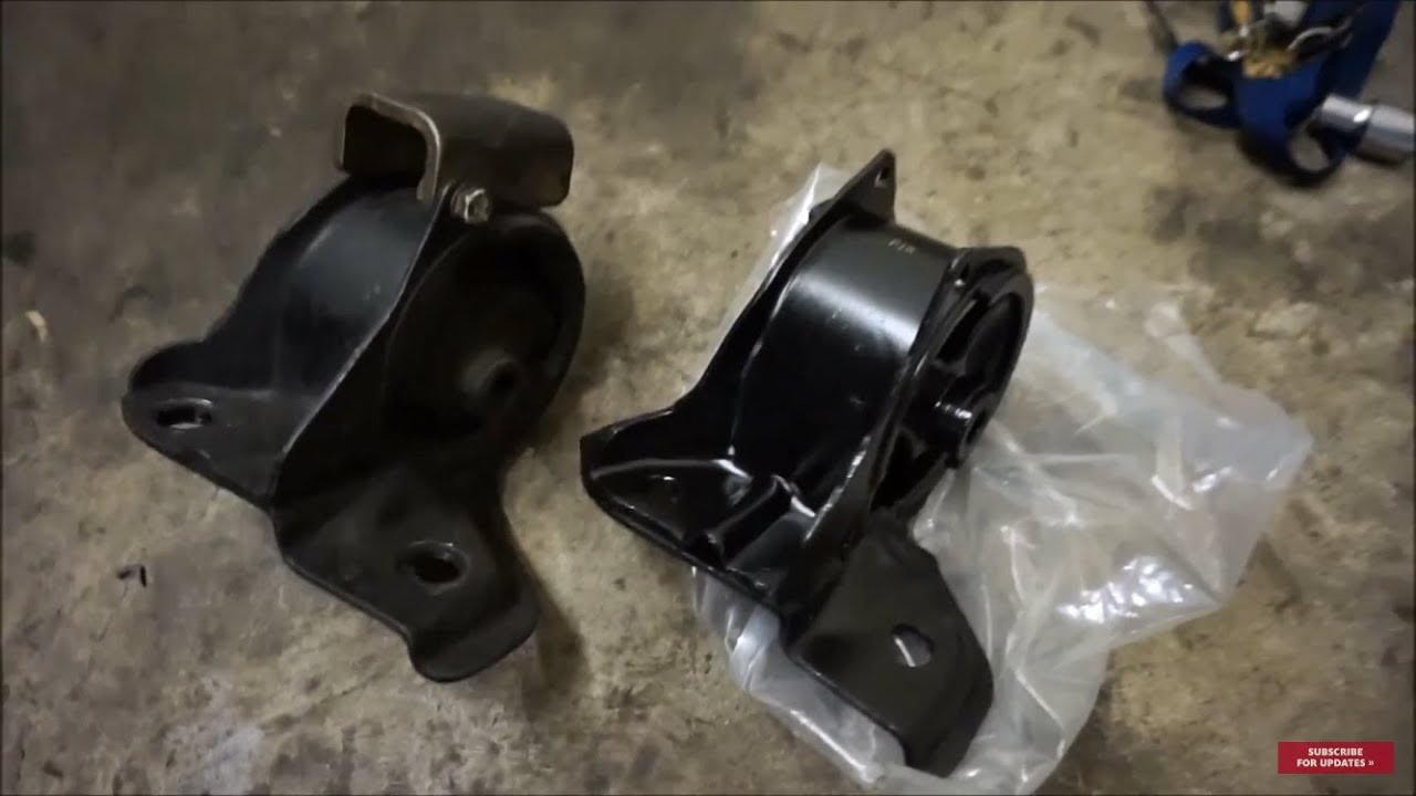Acura Integra Transmission Mount Replacement YouTube - Acura integra transmission