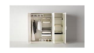 ОБЗОР ШКАФА БРИМНЭС ИЗ ИКЕА и КОМОДА МАЛЬМ.wardrobe Brimnes IKEA and chest of drawers Malm
