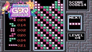 TASBot plays Tetris presented by dwangoAC in 7:25 SGDQ2019