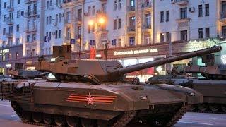 Российский танк «Армата» Лучший на планете, не имеет аналогов.