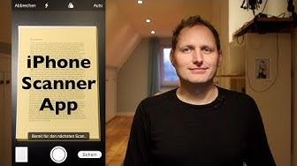 Dokumente scannen am iPhone & iPad | Eingebaute Scanner App