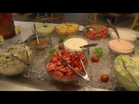 Завтрак в отеле Jomtien Palm Beach 4*.Паттайя. Тайланд