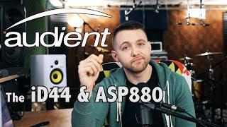 Alex Rudinger - Audient iD44 & ASP880