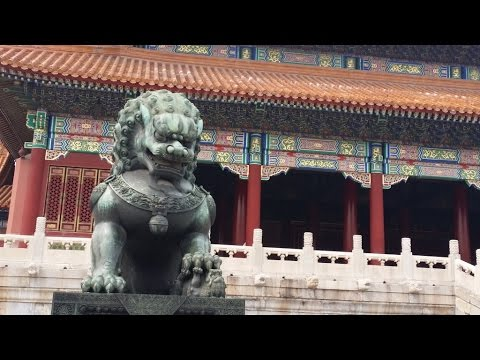 2016 China Trip Day 13 in Forbidden City of Beijing, China