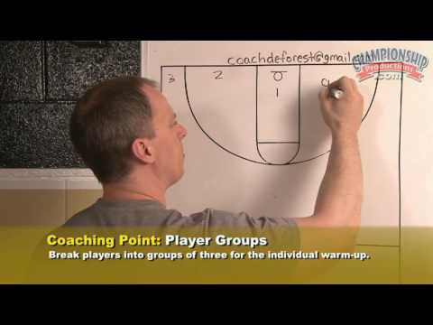 Princeton Offense: Practice Warm-Up and Breakdown Drills - L