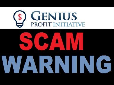 Genius Profit Initiative is a a SCAM!Important Software Review (Alert)