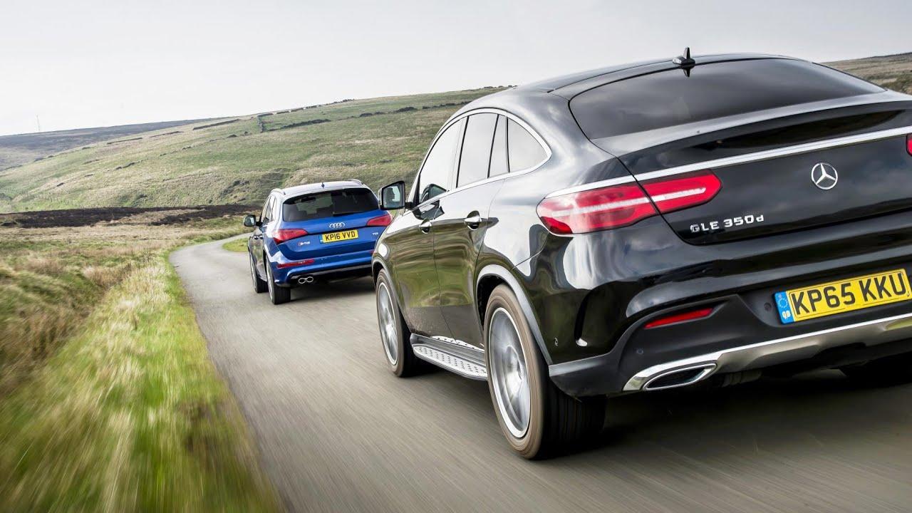 Mercedes GLE Coupe vs Audi SQ5 - YouTube