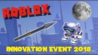 HOW TO GET THE ROBODOG + BLACK PANTHER SPEAR! (ROBLOX Innovation Event 2018 #2)