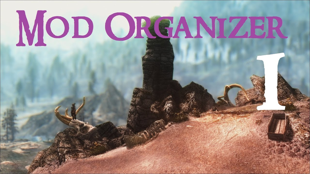 Mod Organizer says Skyrim files are unmanaged - Arqade