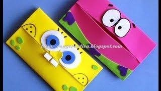 Repeat youtube video BOB ESPONJA PORTAKLEENEX INFANTIL/ SpongeBob carries scarves DIY