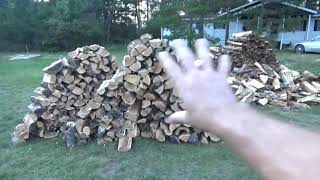 The Off Grid Project Chainsaw Sawbuck & Processing Fire Wood