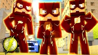 Minecraft: WHO\'S YOUR FAMILY? - FAMÍLIA FLASH!! ‹ YANN › (Baby Flash)