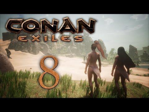 Conan Exiles - прохождение игры на русском - Легкие доспехи! [#8] | PC - Простые вкусные домашние видео рецепты блюд