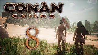 Conan Exiles - прохождение игры на русском - Легкие доспехи! [#8] | PC