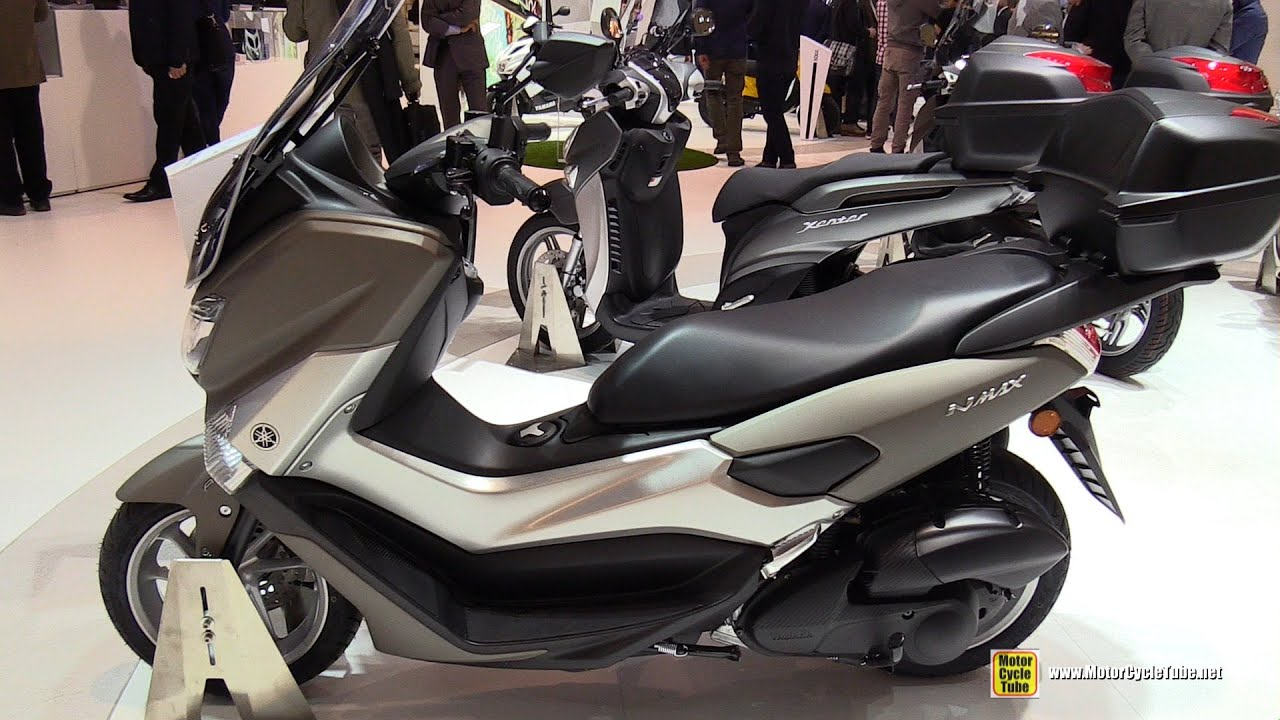 2016 yamaha nmax 125 walkaround 2015 eicma milan youtube. Black Bedroom Furniture Sets. Home Design Ideas