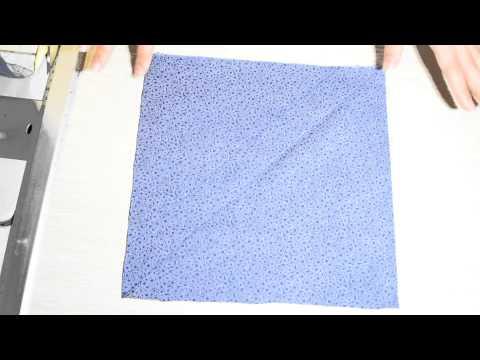 Как идет долевая нить в ткани