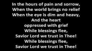 Indelible Grace Music - In the Hours lyrics