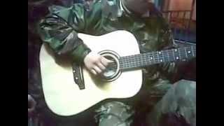 Песни под гитару (Из Армии) Оксана.