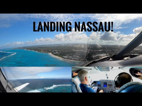 Private Jet to the Bahamas-Landing Nassau!