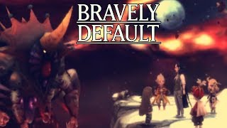 Lets Play Bravely Default Part 87 Ouroboros Final Boss Battle 1/2 - Gameplay Wa