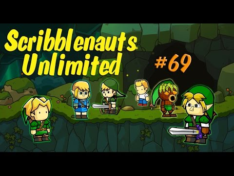 Scribblenauts Unlimited Wii U 69 Making Link in Object Editor