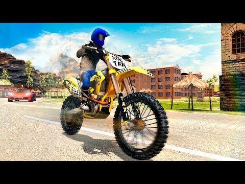 Sports Bike Taxi Sim 3D - Free Taxi Driving Games - Gameplay Android game