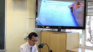 Plotting points & sketching graphs on the Cartesian plane
