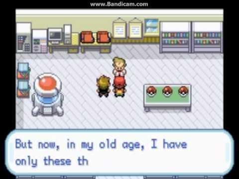 Pai Play Pokemon Fire red Part 1 : เลือกโปเกมอนตัวเเรก