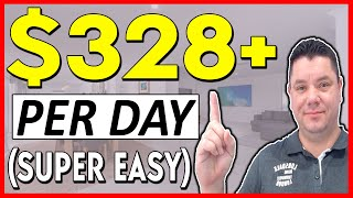 Best Way To Earn $328+ Daily in PASSIVE INCOME Working 15 Mins (SUPER EASY)