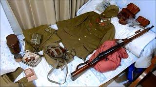 (サバゲ 日本兵) 日本軍の装備紹介①被服編:軍服、水筒、雑嚢等